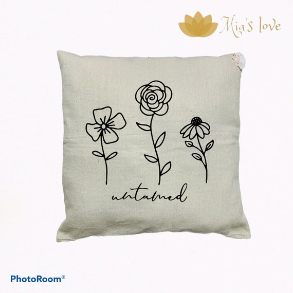 Canva home decor pillow cushions sofa bedroom surprise gifts 18x18