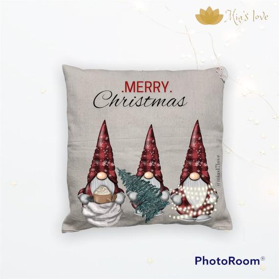 Canva gnome decor pillow cushions sofa bedroom surprise gifts 18x18 genome decor