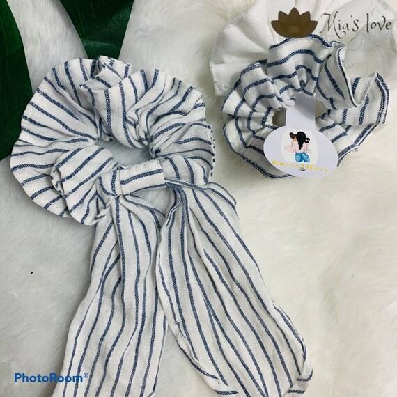 Scrunchies scarfs hair accessories 3 pcs