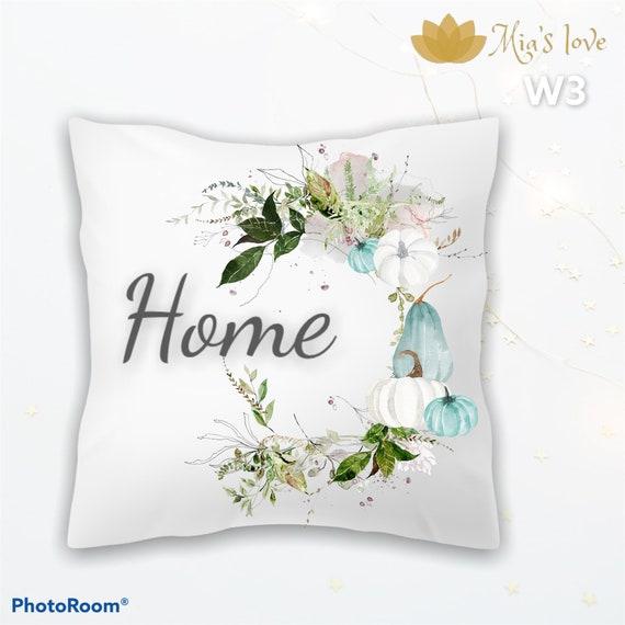 Pumpkin fall Home decor pillow cushions sofa bedroom cojines y funda para sala 16x16  home fall dulce hogar