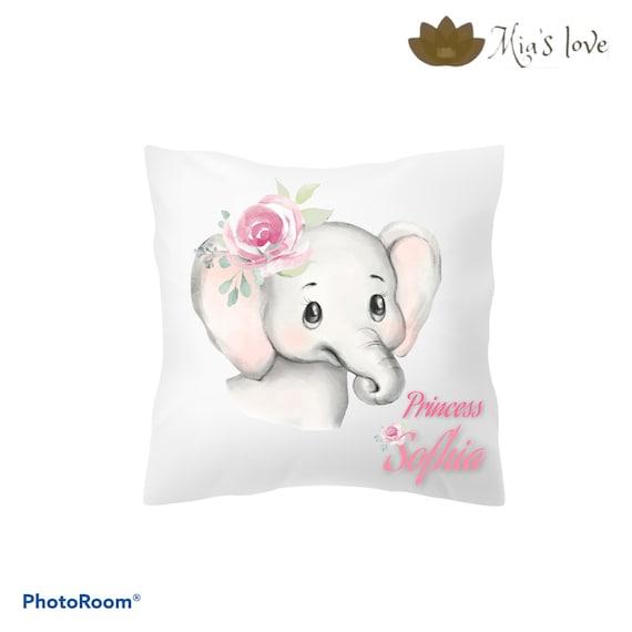 Pillow decor baby rooms watercolor animals unicorn