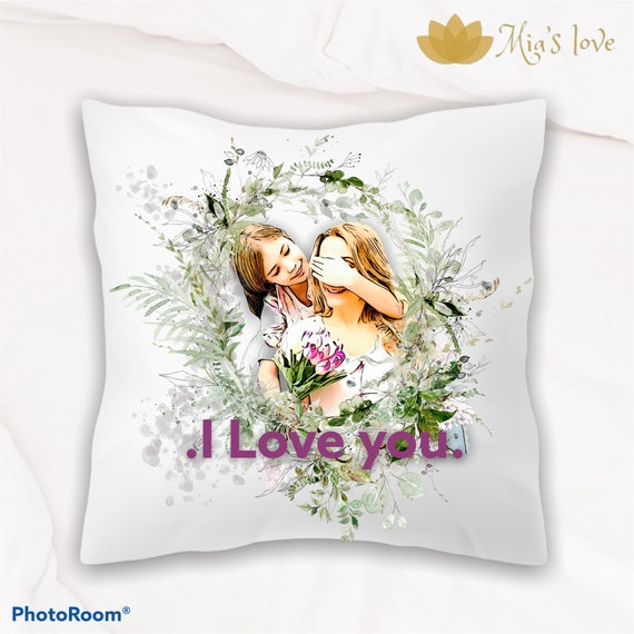 Photo pillow cushions gifts surprise Cover and Bedroom Room Cushions.