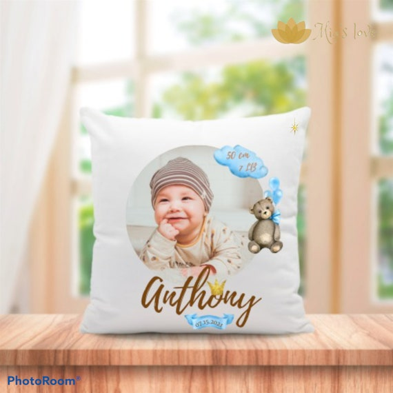 """New born newborn cushions for children's rooms 16"""" 16"""" gifts for newborns"""