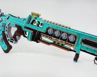 Flatline VK-47 Teal Zeal assault rifle replica from Apex Legends
