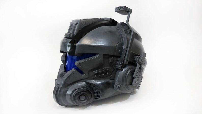 Titanfall Battlerifle pilot helmet | Etsy