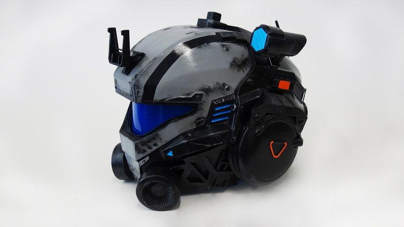 Titanfall 2 Pilot helmet | Etsy
