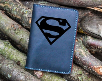 Superman Man Of Steel Personalized Checkbook Cover