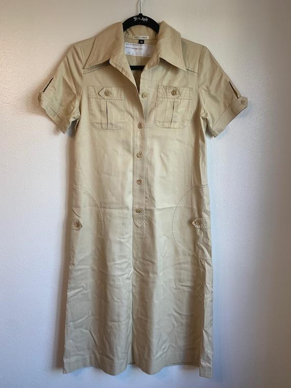 Vintage Military Dress