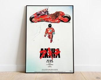1988 Akira Katsuhiro Otomo Anime movie poster print