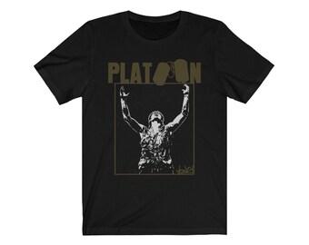 Shadow Of War Adult Ringer T Platoon Shirt