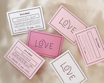 Printable Date Night Coupons for Anniversary or Valentine's Day - Digital Download Coupon Template - DIY gift for him or her