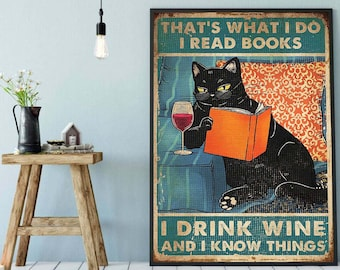 CAT /'I Know Things/' Posters2 to choose fromFramed or Unframed