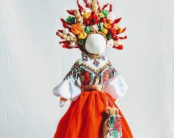 Ukrainian Motanka Home Talisman Doll