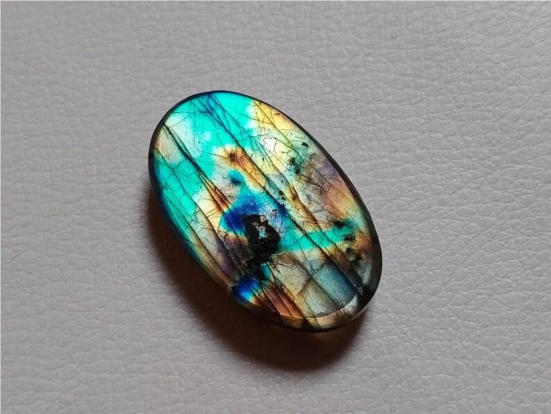 Amazing Multi Flashy Labradorite Natural Labradorite Labradorite Pendant Jewelry Making Stone Best Quality 33X20X7 mm 44 Crt Natural Stone