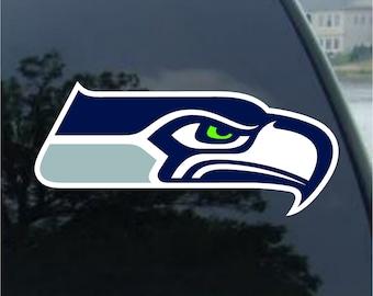 Seattle Seahawks vinyl sticker for skateboard luggage laptop tumblers car a
