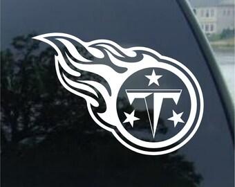 """Truck Window 4/"""" x 4.5/"""" Tennessee Volunteers NCAA Indoor Outdoor Car"""