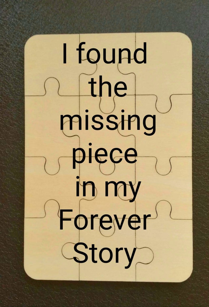 Marriage Proposal Puzzle Found the Missing Piece Engagement image 0