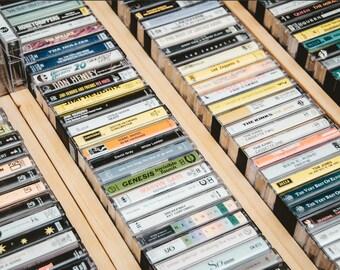 50s, 60s, 70s, 80s, & 90s Rock/Pop Cassette Tapes