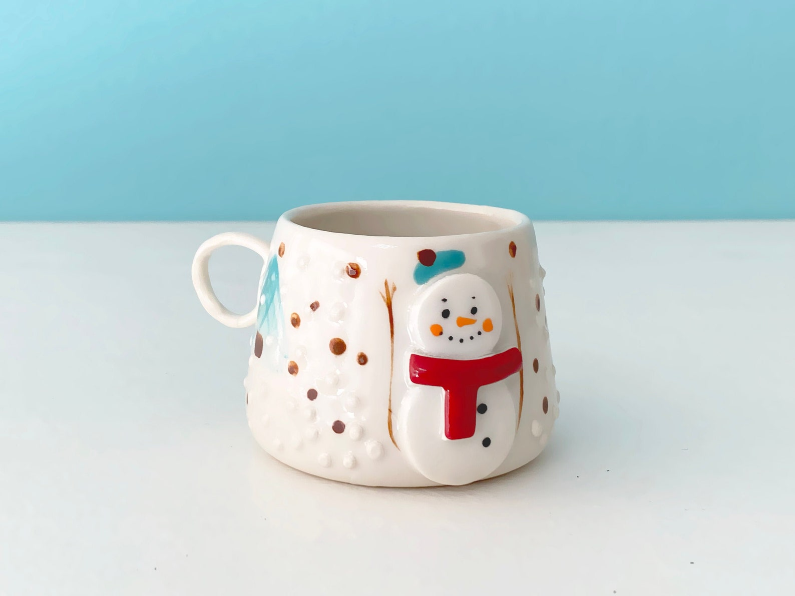 3D Snowman Mugs Page Three