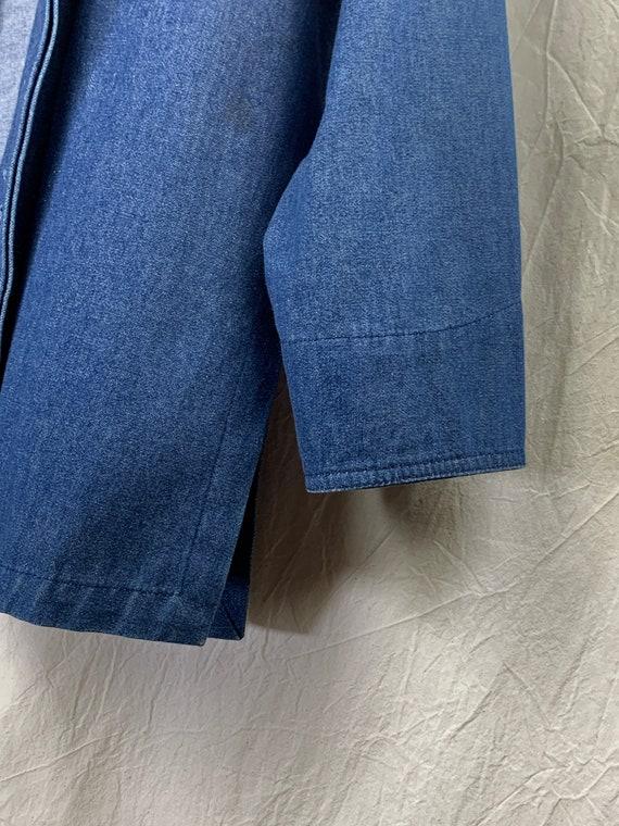 Vintage Top – Lightweight Denim Jacket / Shirt-Ja… - image 4