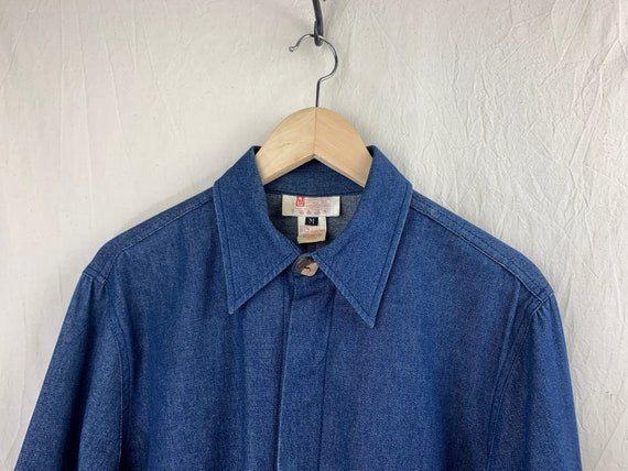 Vintage Top – Lightweight Denim Jacket / Shirt-Ja… - image 6
