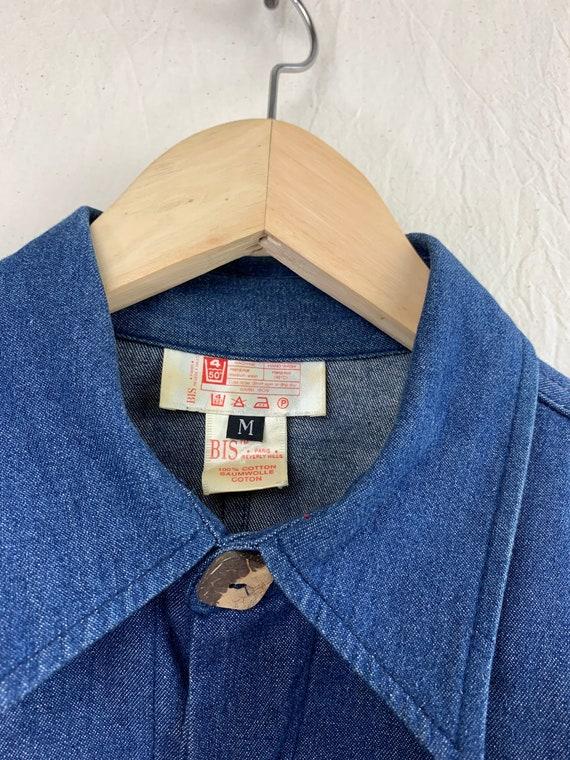 Vintage Top – Lightweight Denim Jacket / Shirt-Ja… - image 7