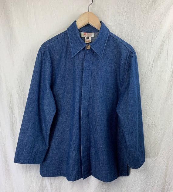 Vintage Top – Lightweight Denim Jacket / Shirt-Ja… - image 1