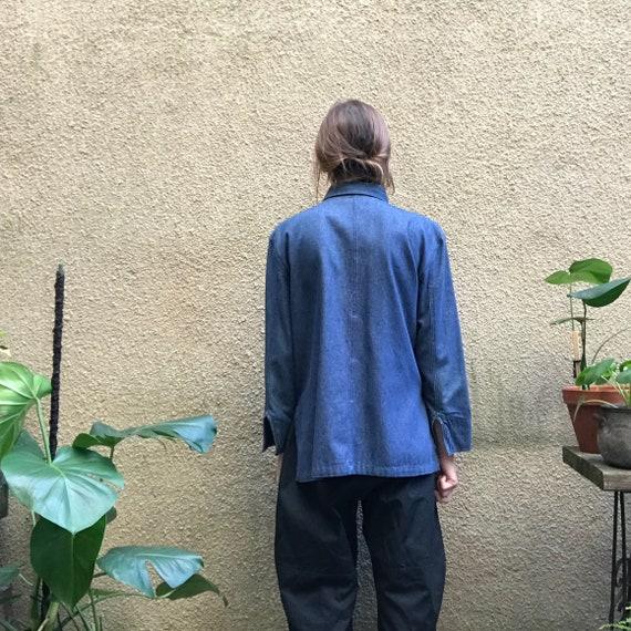 Vintage Top – Lightweight Denim Jacket / Shirt-Ja… - image 9