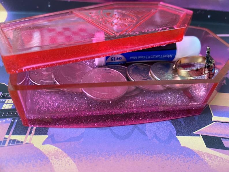 Pink Coffin Trinket Dish