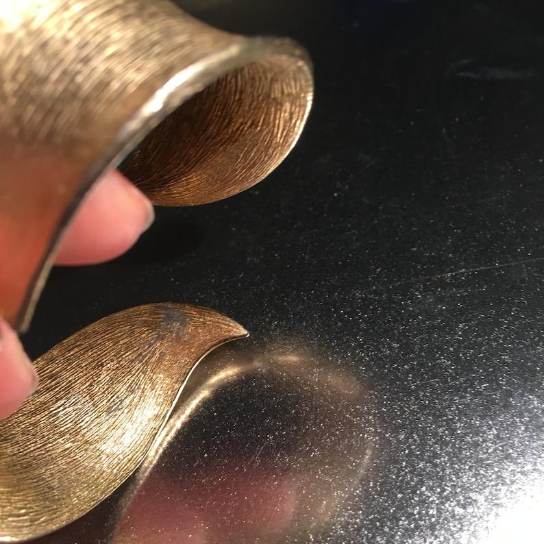 Brushed Gold Cuff Wrap Bracelet