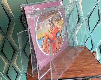 Plexiglass vintage magazine holder