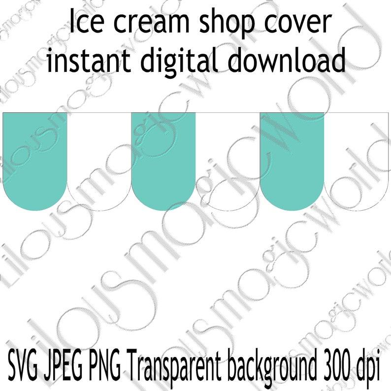 Ikea play kitchen hackdigital ice creamice cream shop bundle ice cream pink covercut files and printables