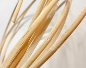 Wrapping Binding Cane Bamboo Binding Rattan Repair and Binding 6mm 1 4 quot 3 Strands 8ft each strand, Flat reed edge finishing