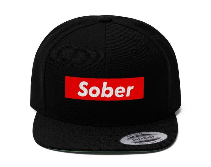 Sober NYC Flat Bill Hat