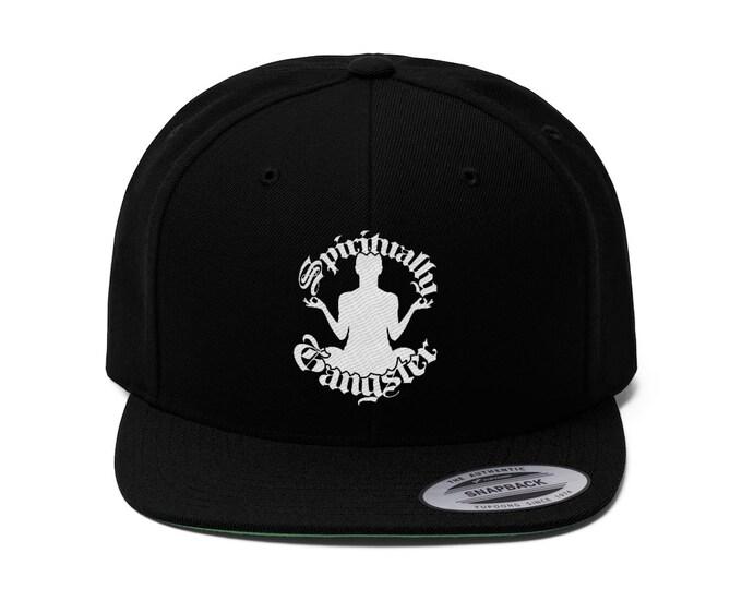 Spiritually Gangster Flat Bill Hat