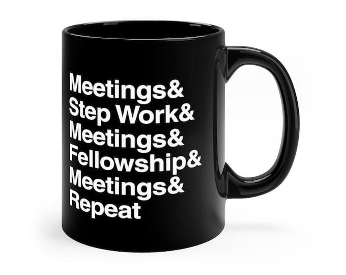 Meetings 11oz Mug