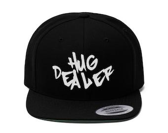 Hug Dealer Flat Bill Hat