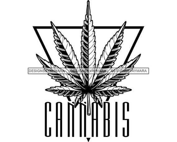 Cannabis Quote Marijuana Smoke Stoned Natural Joint Weed Blunt Pot Leaf High Head Grass Medical Hash SVG PNG JPG Vector Clipart Cut Cutting