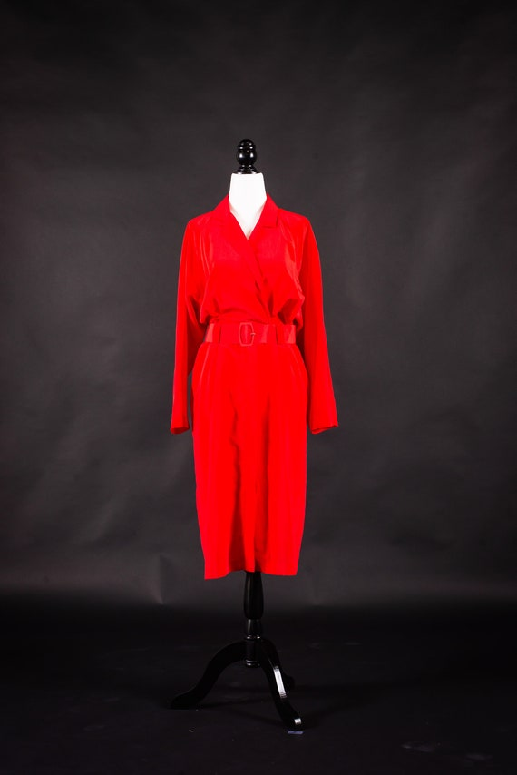 Red Union Made Dress