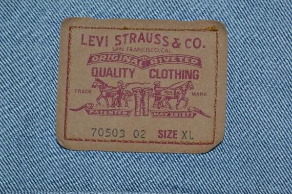 vintage Levi's jeans tracker - image 7