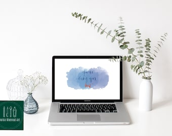 Items Similar To Desktop Background Wildflowers Quote Computer