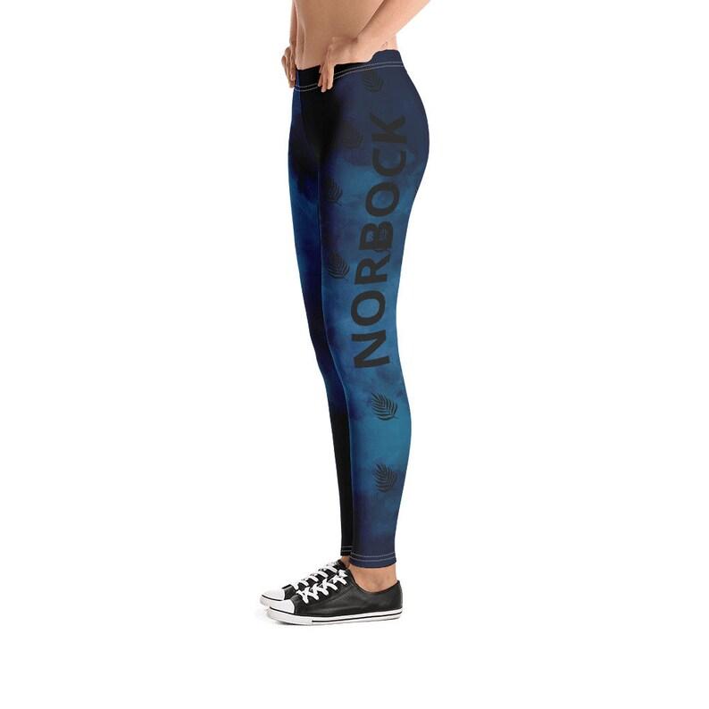 Leaf Print Leggings Capri Yoga Pants Stretchable Legging WOMEN GYM LEGGINGS Hand Sewn Legging Leggings For Women