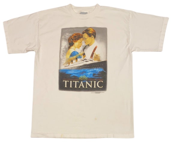 VTG 1998 Stanley Desantis Titanic Movie Promo T-Sh