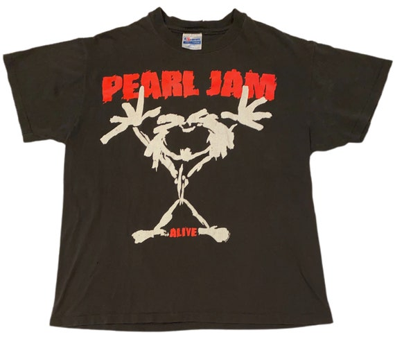 VTG 1992 Pearl Jam Ten Alive T-Shirt
