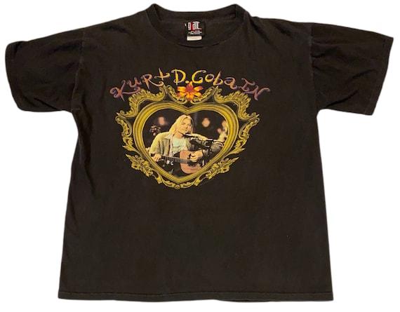 VTG 1995 Kurt Cobain Nirvana Tribute T-Shirt