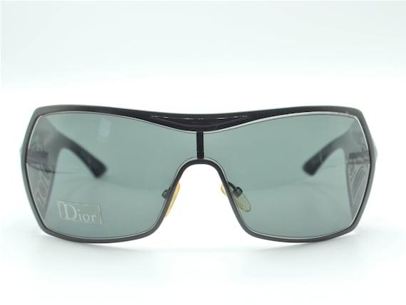 Dior visor sunglasses squared 2000s Gaucho wrapar… - image 4