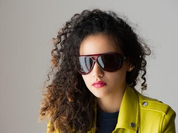 DIOR Aviadior 1 aviator 2000s sunglasses red/blac… - image 5