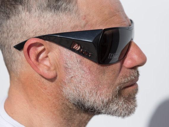 Dior visor sunglasses squared 2000s Gaucho wrapar… - image 5