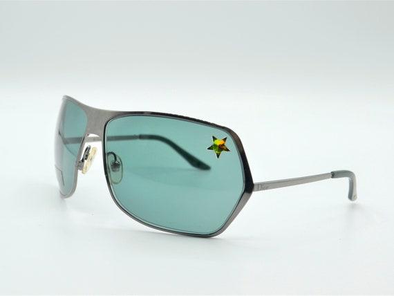 Dior squared sunglasses 2000s vintage smoke dark … - image 2