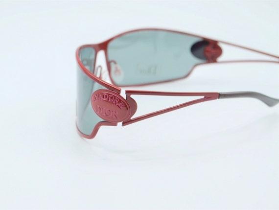 Dior futuristic sunglasses 2000s vintage J'adore … - image 4